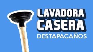 Cómo hacer una Lavadora Casera
