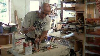 Restoring Midcentury Modern Teak Knife Handles