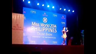 Miss World Philippines 2014 Talent Show