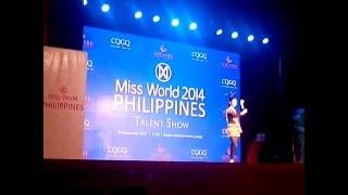 Miss World Philippines 2014 Talent Show