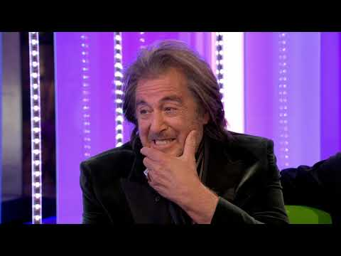 AL Pacino Interview With Emotional Tribute by Fans - One Show 20200204