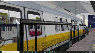 [Openbve] C151 (but In C100A Livery) At Airport Express Line