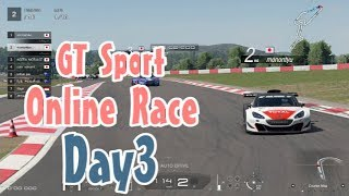 Gran Turismo Sport Online race Day 3