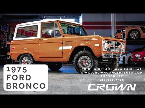 Video of '75 Ford Bronco located in Arizona - $49,929.00 Offered by Crown Concepts LLC - QBHB