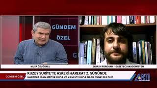 Türkiye'nin Barış Pınarı Harekatını ArtıTV'de Konuştuk