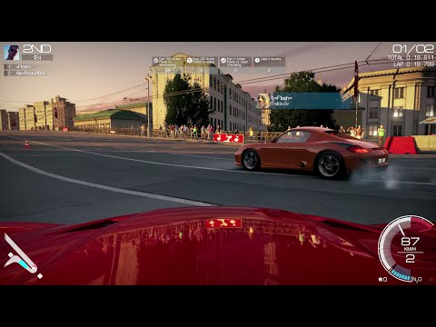 Fast Cars in Moscow!