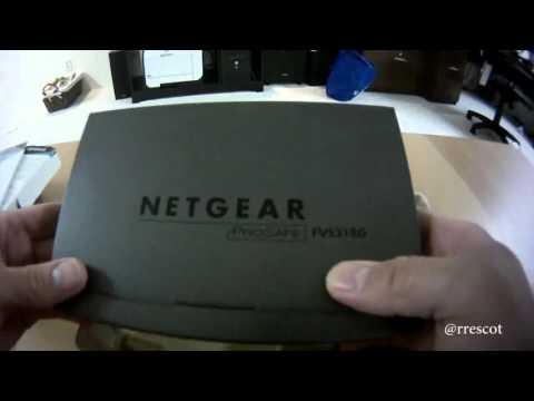 Netgear ProSafe FVS318G Unboxing