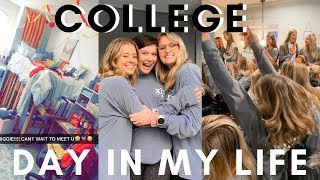 UVA COLLEGE DAY IN MY LIFE   Big Little Reveals, Date Function, Busy Day!!