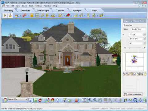 HGTV Home Design Software - Rendering Animation Mp3