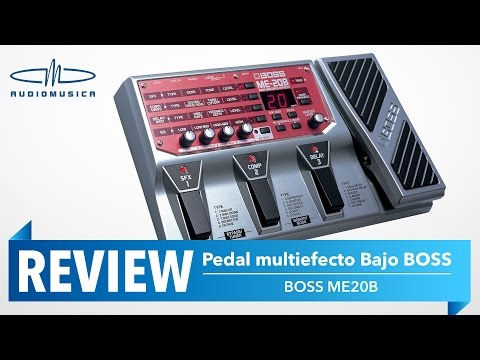 REVIEW / Pedal multiefecto para bajo Boss ME-20B