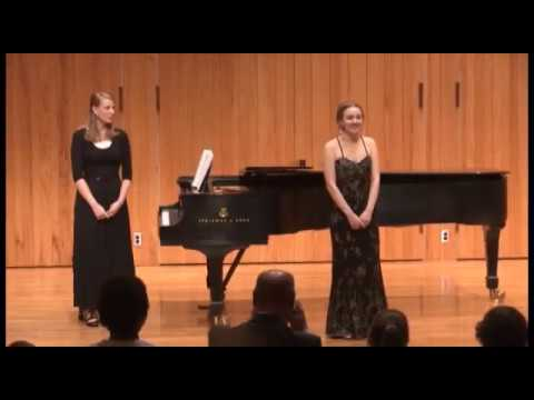 The 3rd and final part of Roxanne's Senior Voice Recital.