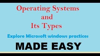 what is operating system and its types | os concepts interview questions