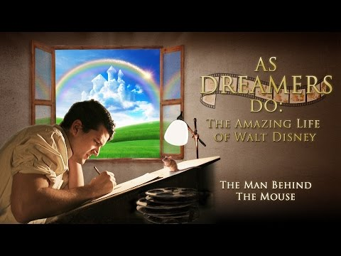 As Dreamers Do: The Amazing Life of Walt Disney DVD movie- trailer