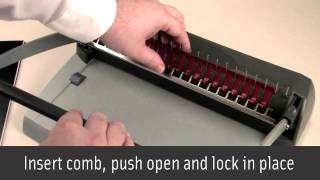 Manual Comb Binding: How It Works