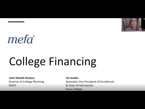 College Financing with Iris Godes from Dean College