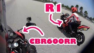 Kena Tapau Dengan R1 - Ride 4 Charity