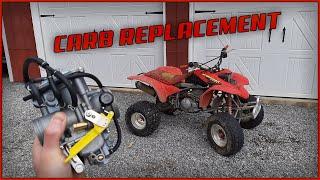 Honda 400EX Carb Replacement