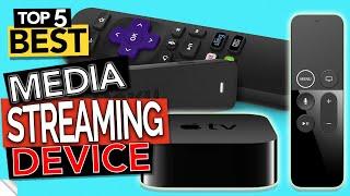 ✅ Top 5 Best STREAMING DEVICE 2020 (Media 4K TV & Stick)