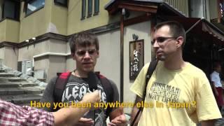 Travelers' Voice of Kyoto: KIYOMIZU DERA Area Interview001