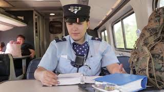 A day in the life of an Amtrak conductor