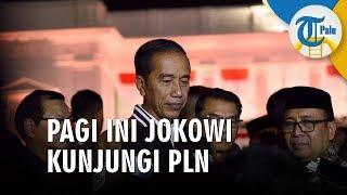 Pagi Ini Jokowi Berkunjung ke PLN