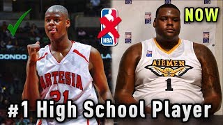 He Was The #1 HIGH SCHOOL Player But NEVER Played A Single NBA Game!
