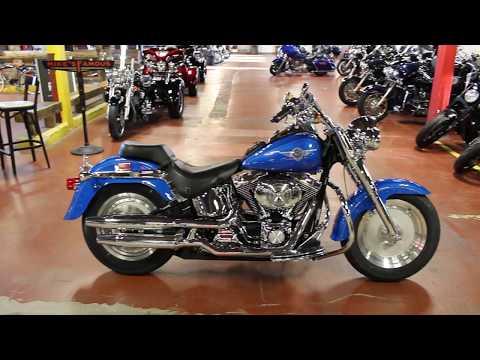 2002 Harley-Davidson FLSTF/FLSTFI Fat Boy® in New London, Connecticut - Video 1