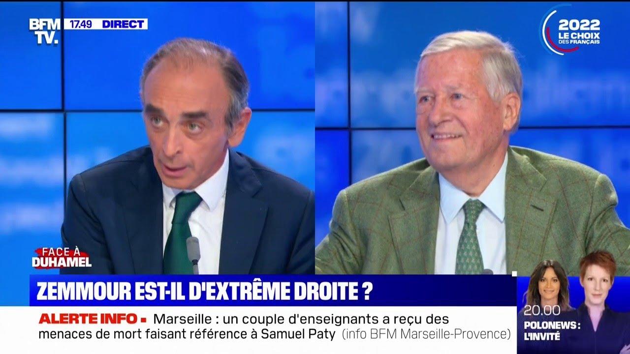 """E. Zemmour: """"Les élites préfèrent les étrangers aux Français, je préfère les Français aux étrangers"""""""