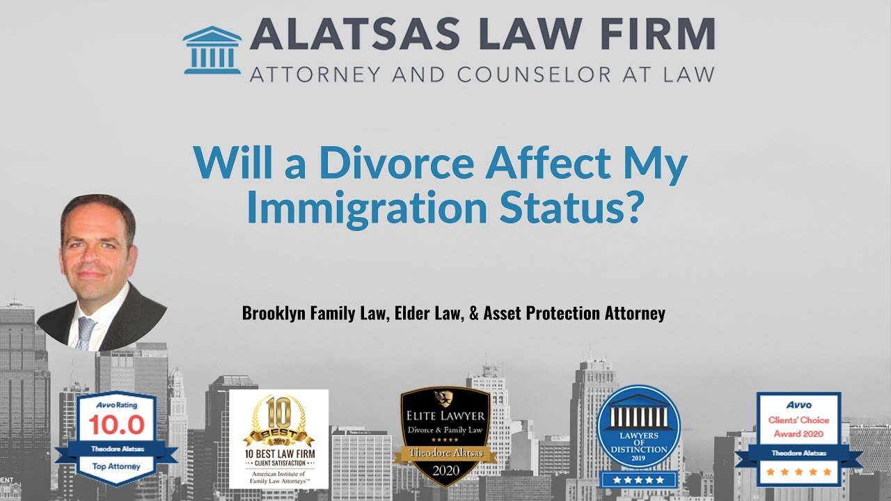 Will a divorce affect my immigration status?