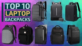 Top 10: Best Anti-Theft Laptop Backpacks Of 2020 / Travel, Waterproof, Usb Charging Port, Daypack