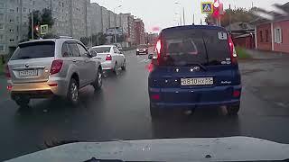 Аварии на дороге, приколы на дороге 2018 8768
