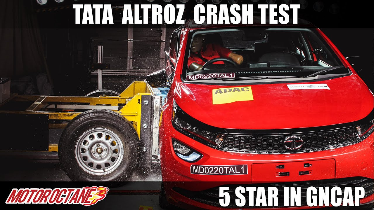 Motoroctane Youtube Video - Tata Altroz - 5 Reasons Why it Scored 5 Star in Crash Test | Hindi | MotorOctane