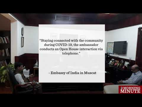 Indian ambassador conducts monthly open house through telephone