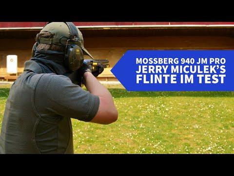 mossberg: Test+Video: Mossberg 940 JM Pro − erster Test der sportlichen Selbstladeflinte, die Jerry Miculeks Namen trägt