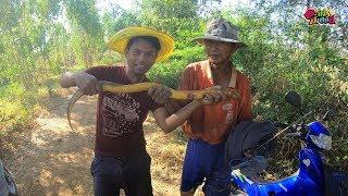 ช็อตเด็ดงูหรือปลาไหล!? ดูใกล้ๆ เจอเซียนปลาไหลใหญ่ตัวจริง เหล็กเดียวเกือบ 2 กก.