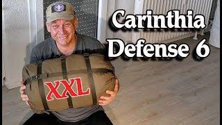 CARINTHIA DEFENSE 6, Winterschlafsack, XXL