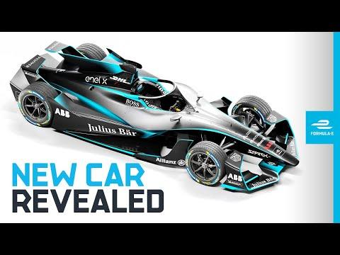 フォーミュラE 2020シーズンの新型車両「Gen2 EVO」の紹介動画