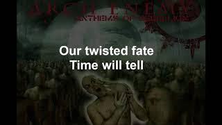 Dead Eyes See No Future - ARCHENEMY - Lyrics - 2003
