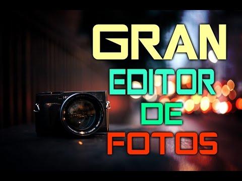EXCELENTE PROGRAMA PARA EDITAR TUS FOTOS DESDE LA PC (Filtros y Mas) 2016- HD