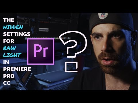 The Hidden Settings for Canon C200 Raw Light in Premiere Pro CC