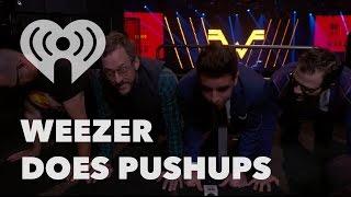 Weezer Talks New Songs, Favorite Music & Do Pushups   Exclusive Interview