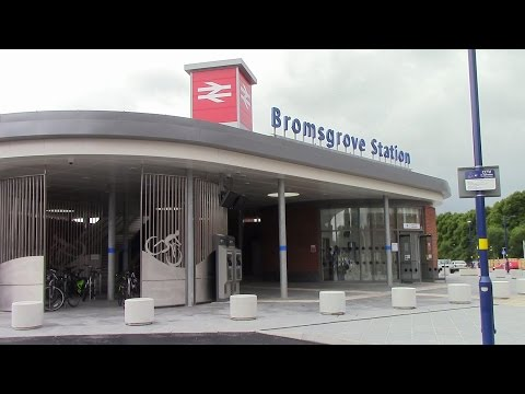 The new Bromsgrove Station opens for business 12th July 2016…