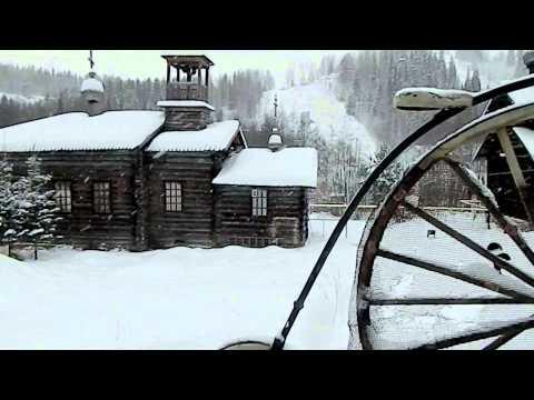 Видео: Видео горнолыжного курорта Огонек (г. Чусовой) в Пермский край