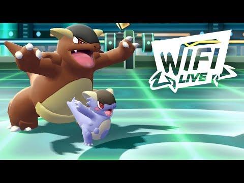 Pokemon Let's Go Pikachu & Eevee Wi-Fi Battle: Mega Kangaskhan Clutch?! (1080p)