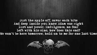 Avenged Sevenfold - The Wicked End [Lyrics on screen] [Full HD]