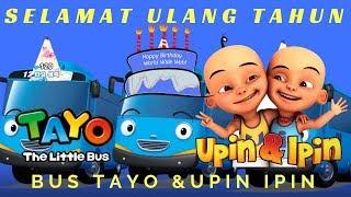 Selamat Ulang Tahun Versi Tayo & Upin Ipin Lagu Anak Indonesia