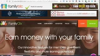 Фишка ! Букс FamiliBTC это:  БЕЗПРОИГРАШНАЯ ЛОТОРЕЯ+ БТС кран+ заработок на просмотрах рекламы