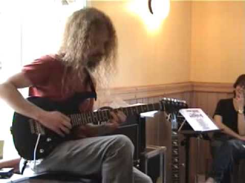 "Guthrie Govan playing ""Donna Lee"" bebop song by Charlie Parker"