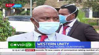 Western Unity: Nominated MP Osotsi slams feuding counterparts