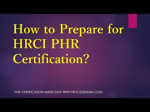 Learn About PHR exam on HR Professional Certification - YouTube